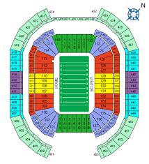 University Of Phoenix Stadium In Glendale Az Seating Chart 48 Up To Date Cardinals Stadium Seating