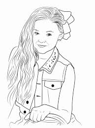 Jojo siwa is a dancer, singer, actor and character from america. Jojo Siwa Coloring Page Luxury On Ecoloringsfo Coloring Pages Dance Coloring Pages Cute Coloring Pages Printable Christmas Coloring Pages