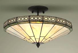 tiffany style ceiling lamps mission style glass semi flush ceiling light tiffany style lamp shades for tiffany style