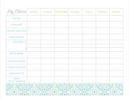 Blank Chore Chart For Adults Freebies Blank Chore Chart Printables Naturally Creative Mama
