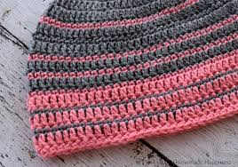 Crochet Beret Pattern Fascinating Simple Striped Crochet Beanie Pattern Crochet Along For A Cause