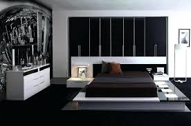 Contemporary Bedroom Furniture White Black And