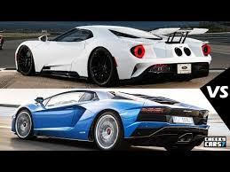2018 ford gt.  ford 2018 ford gt vs new lamborghini aventador s 2017 test drive  interiors  sound inside ford gt 8