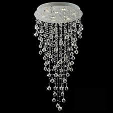 kitchen decorative modern chandelier rain drop 2 0001539 47 raindrops foyer crystal round mirror stainless steel