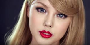 korean beauty ger bees taylor swift with jaw dropping makeup job