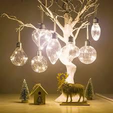 Christmas Light Bulbs For Sale Christmas Tree Pet Filament Light Bulb Ball Hanging Battery Operate Lamp Decor