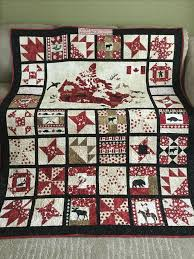 186 best canadian quilts etc images on Pinterest | Quilt blocks ... & I made this Canada 150th Celebration quilt for good friends using Northcott  Oh Canada collection. Adamdwight.com