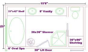 Master Bathroom Dimensions Impressive Decorating Design