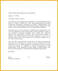 Sample Testimonial Letter Template Employment References
