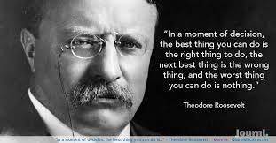 Teddy Roosevelt quotes WeNeedFun Unique Teddy Roosevelt Quotes