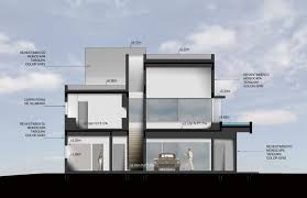 architectural drawings of modern houses. Street Side Section Drawing Architectural Drawings Of Modern Houses R