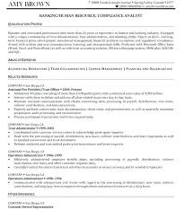 Human Resource Resume Human Resources Generalist Resume Hr Assistant