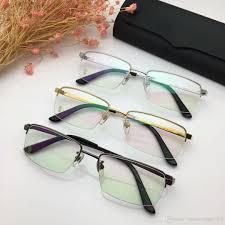 Inexpensive Designer Eyeglasses 8201008 Eyeglasses Frame Women Men Brand Designer Eyeglass Frames Designer Brand Eyeglasses Frame Clear Lens Glasses Frame Oculos With Case