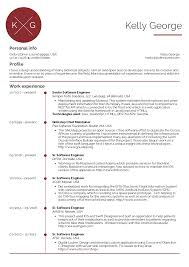Resume Examples By Real People Senior Software Engineer Resume