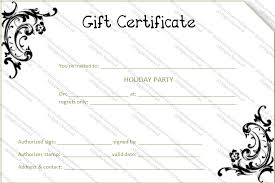 large templates large gift certificate template printable