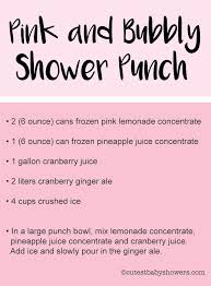 Best 25 Pink Punch Recipes Ideas On Pinterest  Pink Party Punch For Girl Baby Shower