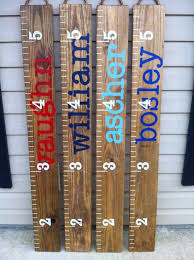 Kids Growth Chart Stick Pin By Stephanie Copp On Baby Stuff Growth Chart Wood