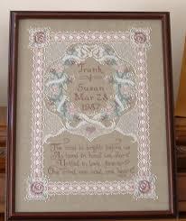 Wedding Cross Stitch Patterns Amazing Wedding Sampler Counted Cross Stitch Wedding Sampler