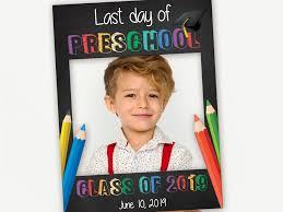 last day of school school frame school party photo prop
