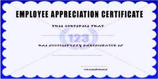 Sample Employee Appreciation Letter Format Assignment Point