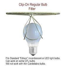 Lamp Shades That Clip Onto Light Bulb 11x11x5 Deluxe Clip On Ceiling Lampshade Eggshell Shantung