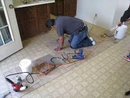 image of diy vinyl flooring tiles
