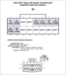 bose amp wiring diagram wiring diagram show bose amplifier connector details chevy ss forum bose amp wiring diagram manual bose amp wiring diagram