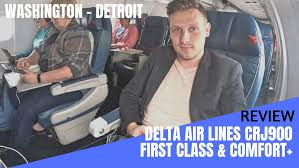 Challenger 890 Seating Chart Review Delta Air Lines Crj900 First Class And Comfort