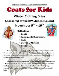 coats for kids winter clothing drive coming bolt blog