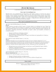 Assistant Director Child Care Resume Sample Letsdeliverco Interesting Child Care Resume Sample