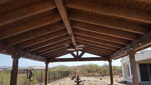 ramada roof over outdoor kitchen cave creek