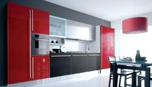 Red And Black Kitchen Red And Black Kitchen Designs Red And Black