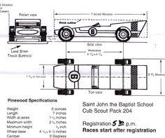 Pinewood Derby Templates   Customizable Pinewood Derby Car Template ...