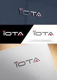 Iota Design Modern Elegant Iot Logo Design For Iota By Butterfly 1