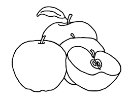 Apple Tree Coloring Pages To Print Free Autumn Tree Coloring Pages