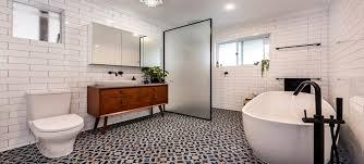 bathtub and shower installation