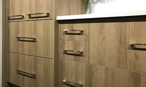 stock rta cabinets with light tone
