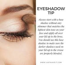 add a neutral or white base to your lids to intensify your eyeshadow and also to make it last longer