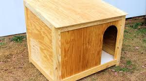 Homemade Dog House Designs Simple Large Dog House Build Diy