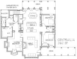 3 Bedroom Open Floor House Plans Simple Inspiration