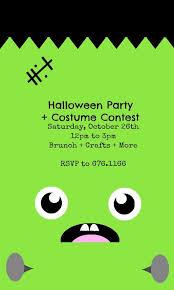 Kids Halloween Party Costume Contest In 2019 Halloween