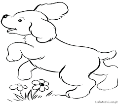 Dachshund Coloring Page Cartoon Puppy Coloring Pages Boxer Puppy