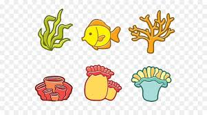coral reef fish drawing. Interesting Fish Coral Reef Fish Illustration  Cartoon And Coral On Reef Fish Drawing O