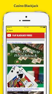 playing blackjack at a