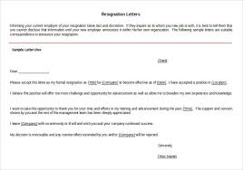 23+ Resignation Letter Templates - Free Word, Excel, Pdf, Ipages ...