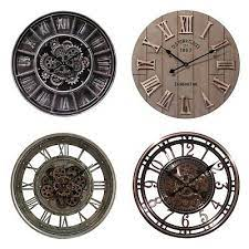 large roman numbers 60cm wall clock