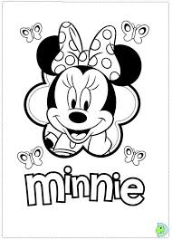 Small Picture Disney Minnie Mouse Coloring Pages GetColoringPagescom
