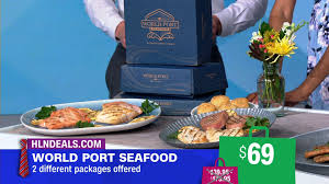 Omaha Steaks is also in the seafood biz ...