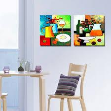 kitchen paintingsAliexpresscom  Buy 2 Panel Modern Paintings Kitchen Art Cuadros