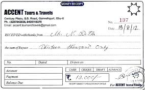 Free Printable Receipts Rent Receipt Book Template Download Monster